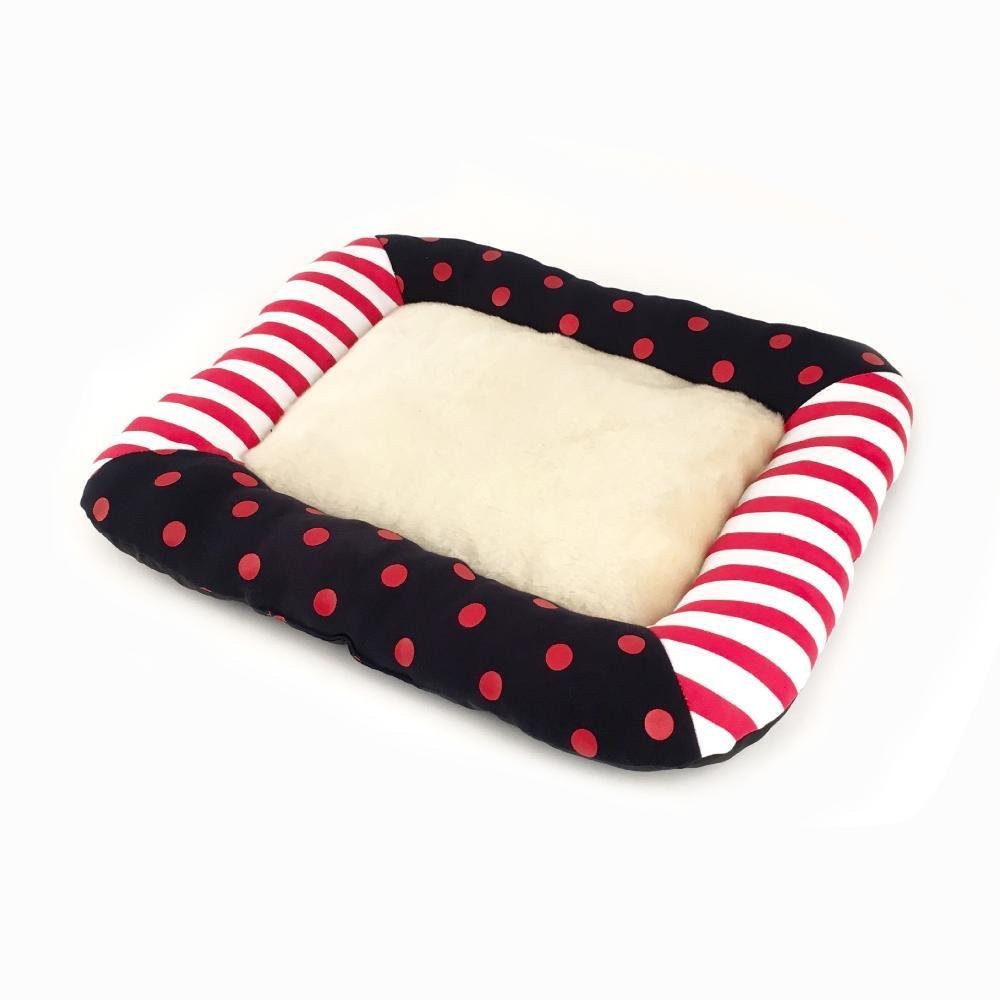A S A S Lozse Pet Beds Pet Supplies Pet Articles knitted printing pet mat cotton for Dogs and Cats Sleeping Cushion