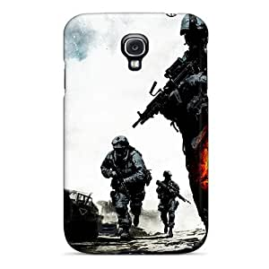 Galaxy S4 Case, Premium Protective Case With Awesome Look - Battlefield Bad Company 2 Onslaught