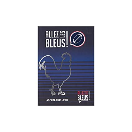 Agenda 2019-2020 - 17 x 12 cm - francés - ¡Va los azules!: Amazon ...