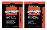 1999 Toyota Tacoma Shop Service Repair Manual Book