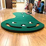 Intech 3 Hole Portable Golf Putting Mat