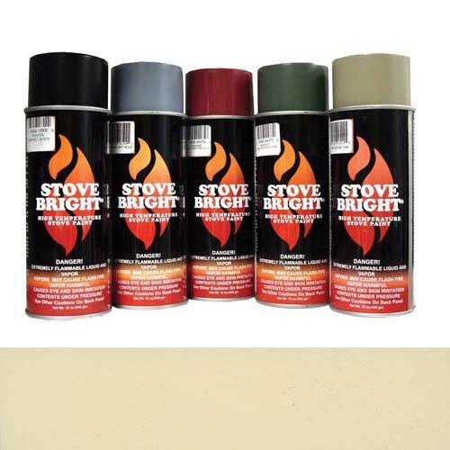 Almond Stove (Stove Bright 6283 Stove Bright™ High Temperature Almond Stove Paint)