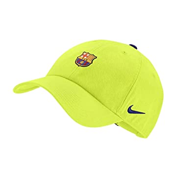 36e122a137dcd8 Nike 2018-2019 Barcelona H86 Core Cap (Cyber): Amazon.co.uk: Sports &  Outdoors