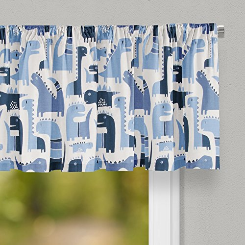"""Glenna Jean Dino Blue Curtain Valance 70""""W x18""""H for for sale  Delivered anywhere in USA"""