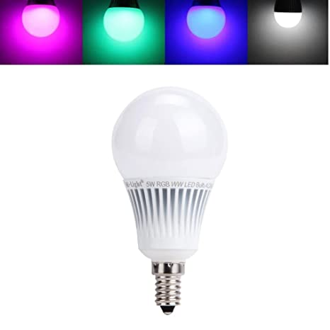 Color Light Lamp 5w Rgb Dimmable Colour Changing Remote Control Mi White Bulb Warm Wifi LighteuE14 Original With Led hCrxQstd