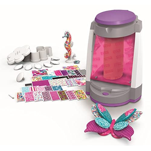 Graphic Skinz Design Studio Girl – Motorized Vacuum Chamber Adhesive Transfers Toy, Wrap Model Parts, Activate Suction –...