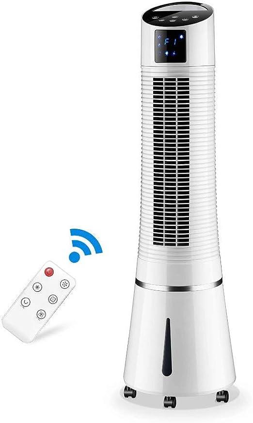 Ventiladores de sobremesa Ventilador de Aire Acondicionado Hogar Ventilador de Agua fría con Agua Mute Tower Formula Pequeño Aire Acondicionado: Amazon.es: Hogar