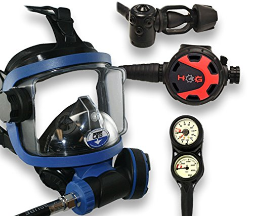 Ocean Technologies Guardian Fullface Mask Package (Black)