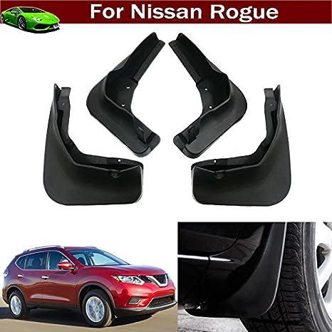New 4pcs Car Mud Flap Splash Guard Fender Mudguard Mudflap For Nissan Rogue  2014 2015 2016