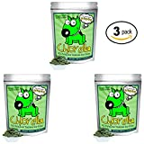 Organic Chlorella Raw Dog Food, Whole Food Topper and Natural Pet Supplement Snack. Treat your four-legged friend to the best canine nutrition. 100% Pure Chlorella. Mega-Pack (3 Pack)