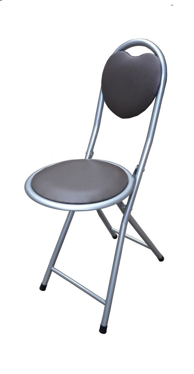 ANZ Children's Folding High Bar Chair Kids Padded Stools Kitchen Party Breakfast New (Beechwood Junior Stool)