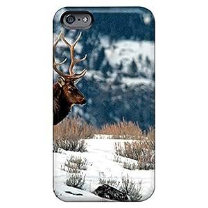 iphone 6plus 6p Skin phone skins skin Popular winter elk