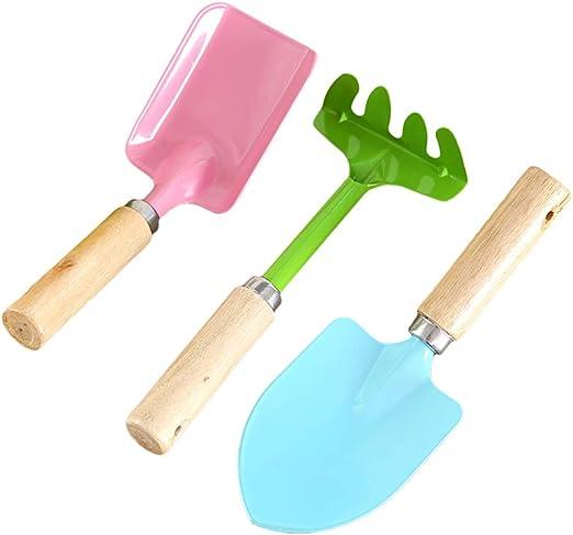 Linpu - Juego de herramientas para trasplante de jardines (3 piezas, para jardín): Amazon.es: Jardín