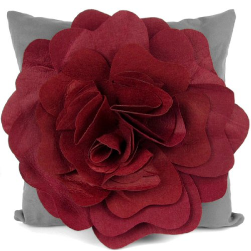 kilofly Home Decorative Throw Pillow Cover, 18