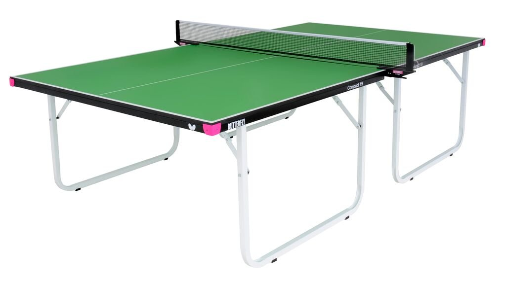 Butterfly Compact 19 Table Tennis Table, Green