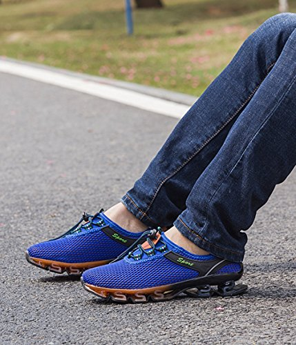 Trainers Unisex Color Shoes Running 48 Hiking Breathable Mesh Shoes Large Men's Lovers Shoes Sneakers Shoes Size Outdoor B Size CwqxAvn0H