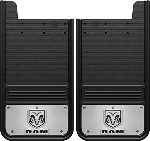 (Truck Hardware Gatorback Mud Flaps with RAM Logo - Rear Pair)