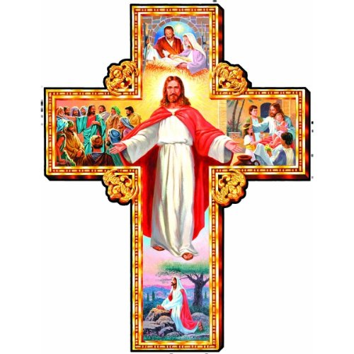Religious Puzzle - Sunsout I Am With You Cross 1000 Piece Jigsaw Puzzle