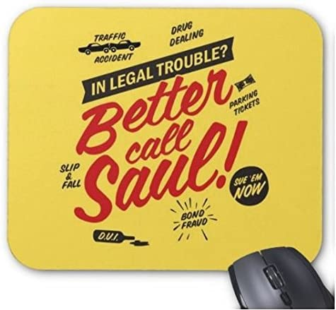 Better Call Saul Funny Breaking Bad Quote Mouse Pad
