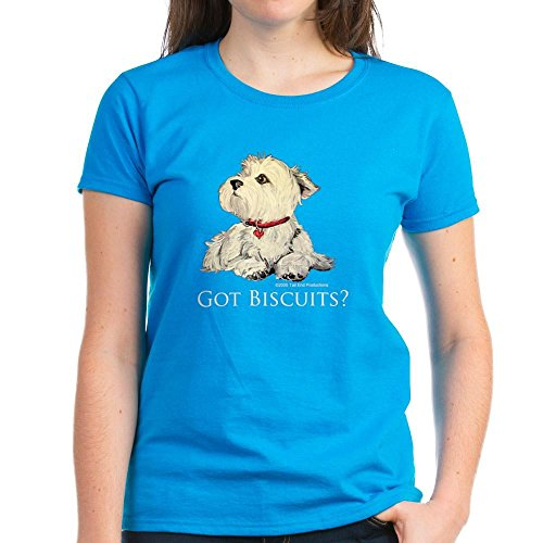 CafePress - Biscuits 6X6 Clear 2 T-Shirt - Womens Cotton T-Shirt