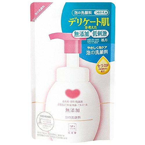 COW BRAND Additive-free Bubble Wash Face for Refill 180ml by CowCow