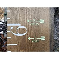 Classic ~ Height Marking Arrows for Growth Charts