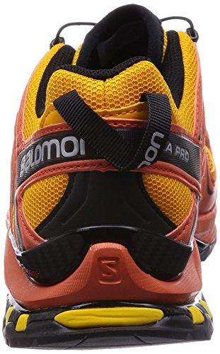 Salomon Xa Pro 3d - Zapatillas de Running Hombre Naranja - Orange (Yellow Gold/Tomato Red/Black)