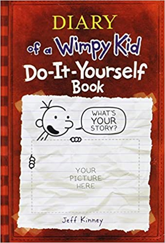 Do it yourself book diary of a wimpy kid jeff kinney do it yourself book diary of a wimpy kid jeff kinney 9780810982949 books amazon solutioingenieria Choice Image