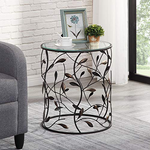 FirsTime & Co. Twining Vines Accent Table, 21