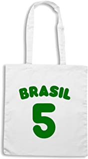 Speed Shirt Borsa Shopper Bianca WC1020 BRASIL 5
