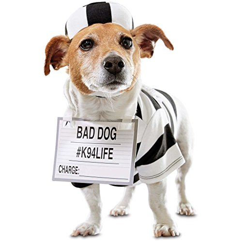 Bootique Prisoner Dog Costume, X-Small]()