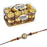 Ferrero Rocher Chocolate 16 Pieces with Rakhi