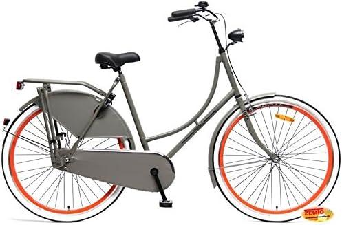 Bicicleta holandesa para mujer 28 pulgadas, 3 marchas gris de ...