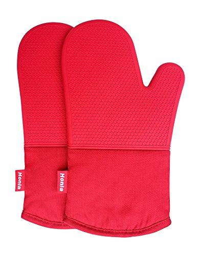 Silicone Oven Mitts Resistant Potholders product image