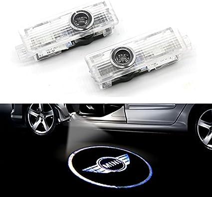 USUN LED coche puerta Logo Proyector Luz paso Light Car Logo ...
