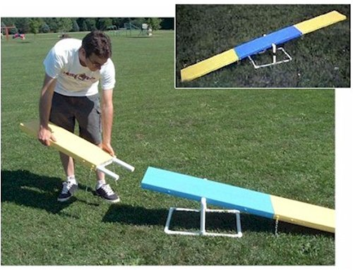 Mini Travel Teeter (Dog Agility See-saw) Teeter Totter Dog