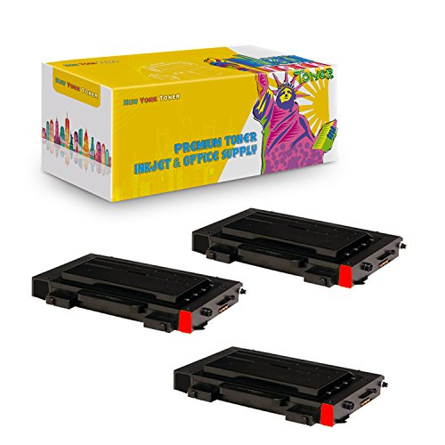New York TonerTM New Compatible 3 Pack CLP-510D5M High Yield Toner For Samsung - CLP-510N | CLP-510NG . -- Magenta ()