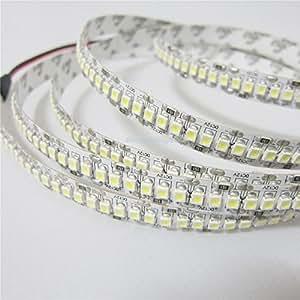 10mm width 3528 LED strip White Light 240Led/m 5M 1200 SMD Non Waterproof 12V DC