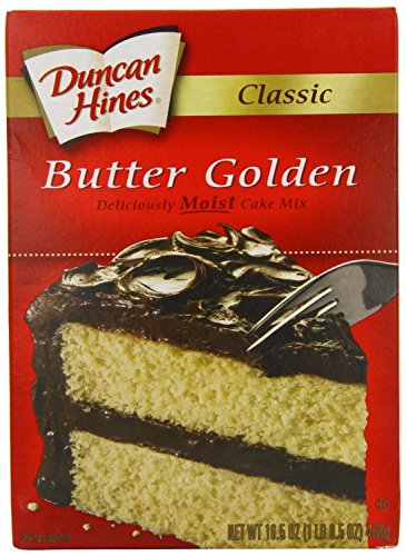 Duncan Hines Signature Golden Butter Recipe Cake Mix (3 Pack) -