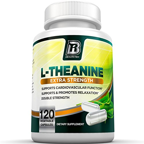 BRI Nutrition L Theanine Relaxation 120 Count product image