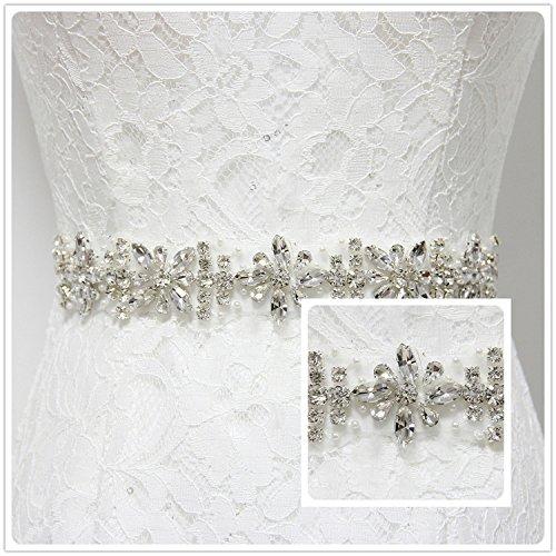 Elegant Wedding Belt NO 025 Bridal Crytals