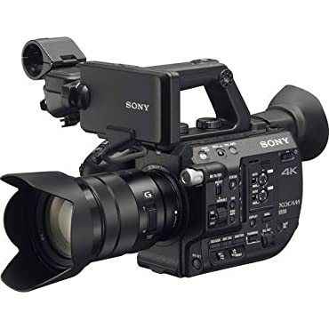Sony PXW-FS5 4K XDCAM Camera System with Super 35 CMOS Sensor with 18-105mm E-Mount Zoom f/4 G OSS Lens