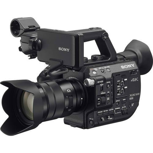 Sony PXW-FS5 XDCAM Super 35 Camera System with Zoom Lens Professional Camcorder, Black (PXWFS5K) by Sony