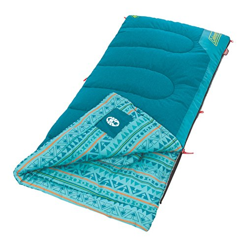 - Coleman 2000025288 Sleeping Bag Youth 50 Rect Teal