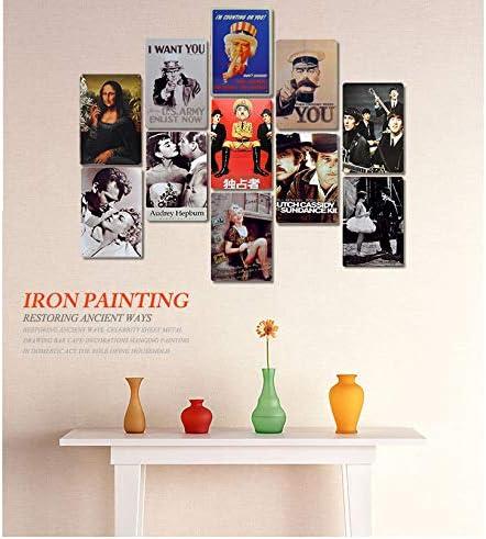 Carlena Scooby Doo Mystery INC Metal Art Sign Poster Vintage Lamina Poster per Negozi Bar Home Wall Decor 20,3 x 30,5 cm