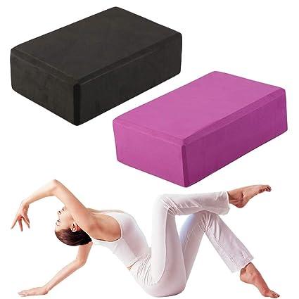 Amazon.com : Woolah Yoga Block Exercise Fitness Sport Yoga ...