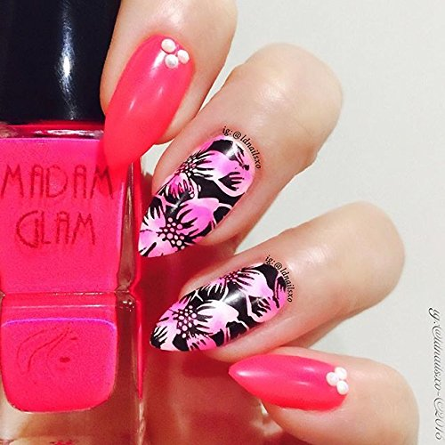 Nail Art Cost Price: PUEEN Nail Art Stamping Plate