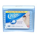 Q-Tips  Cotton Swabs 30 Purse Pack