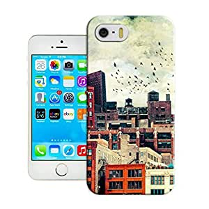 LarryToliver Customizable Now the city pattern iphone 5/5s Case Cover Best Gift Choice for Customizable