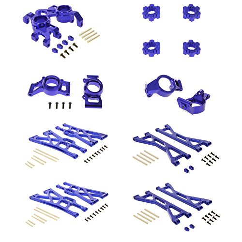 Atomik RC Traxxas X-Maxx Ultimate Alloy Upgrade Kit Blue
